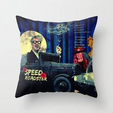 Speed Roadster Throw Pillow