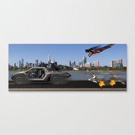 Superhero Team Up Canvas Print