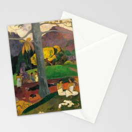 Paul Gauguin - Mata Mua (In Olden Times) (1892) Stationery Cards