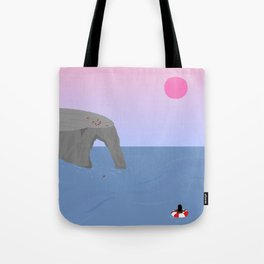 Time // Place Tote Bag