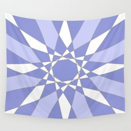 Blue Crystal Wall Tapestry