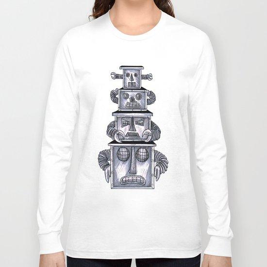 robo totem 1 Long Sleeve T-shirt