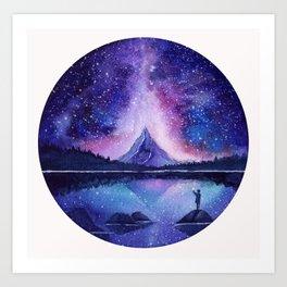 Counting Stars Art Print