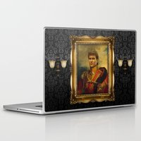 replaceface Laptop & iPad Skins featuring Patrick Swayze - replaceface by replaceface