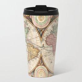 Victorian Map Travel Mug