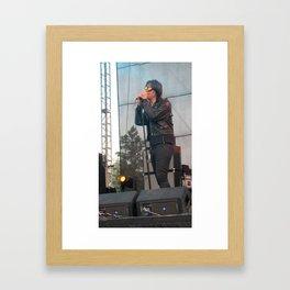 Julian Casablancas of The Strokes Framed Art Print