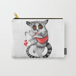 Lemur Thief of Hearts Carry-All Pouch