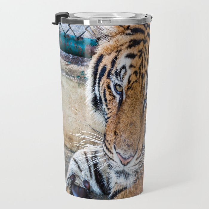 Tiger, My Bottom is Not Made Out of Springs Travel Mug