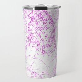 Pink siege Travel Mug