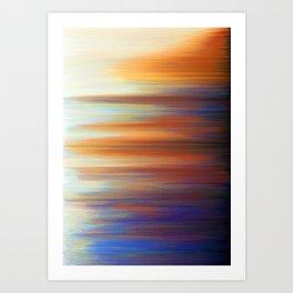 Pixel Sorting 44 Art Print