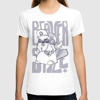 beaver T-shirts featuring Beaver' Style by Kiwii Illustration