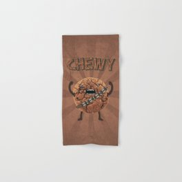 Chewy Chocolate Cookie Wookiee Hand & Bath Towel