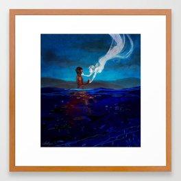 Dead in the Water Framed Art Print