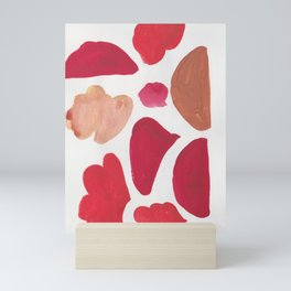 36   | 190408 Red Abstract Watercolour Mini Art Print