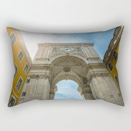 Arco da Rua Augusta in Lisbon, Portugal Rectangular Pillow