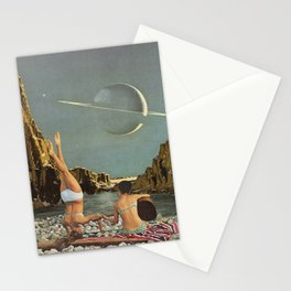 Serenade to Saturn Stationery Cards