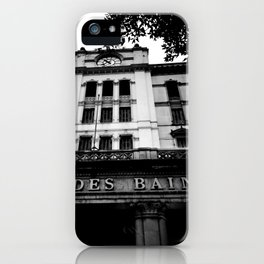 Grand Hotel Des Bains iPhone Case