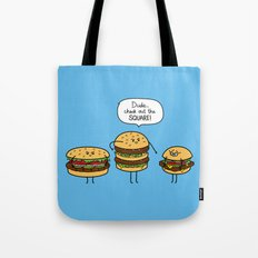 Burger Bullies Tote Bag
