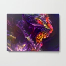 Purple Berserk Metal Print