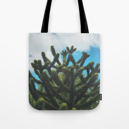 The Monkey's Puzzle Tote Bag