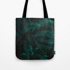 Blue Fern Twilight Tote Bag