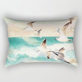 Summer Flight Rectangular Pillow