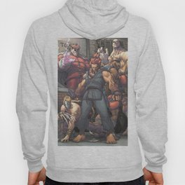 Street Fighter - Villains Hoody