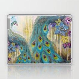 Jeweled Peacock Laptop & iPad Skin