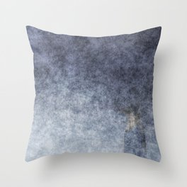 stained fantasy into the mist Throw Pillow