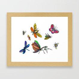FLIGHTS Framed Art Print