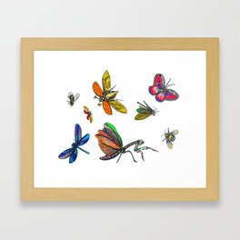 FLIGHTS Framed Art Print