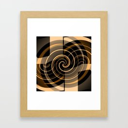 Caramel & Licorice Fudge Framed Art Print