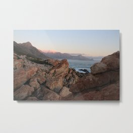 Where Dinosaurs Roamed - Gordons Bay, South Africa Metal Print