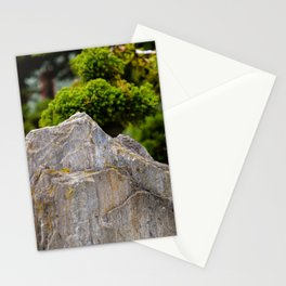Rock Garden Mountain Stationery Cards