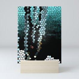 Seabed mosaic Mini Art Print