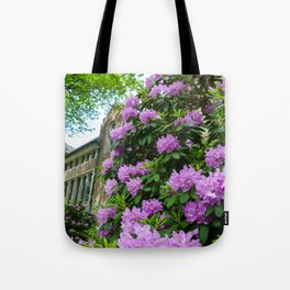 Founders Flowers Tote Bag