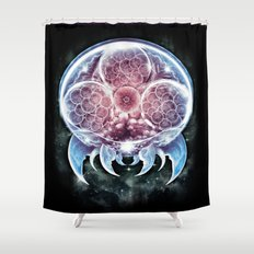 The Epic Metroid Shower Curtain
