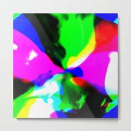 Melting Color Metal Print
