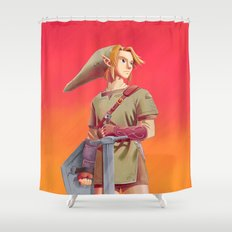 The Knight Shower Curtain