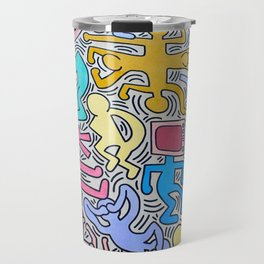 KEITH HARING Travel Mug