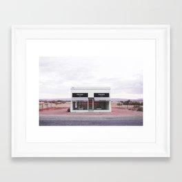 Pink Marfa Framed Art Print
