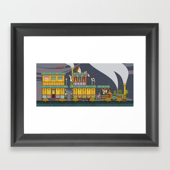 The Young Adventurers Society Framed Art Print