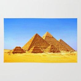 The Pyramids At Giza Rug