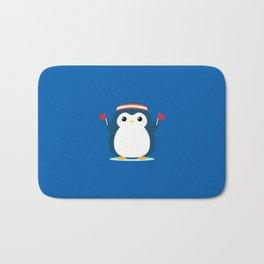Penguin Cheer Bath Mat