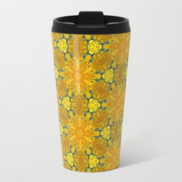 Yellow Sunflowers on a Sunny Day Travel Mug