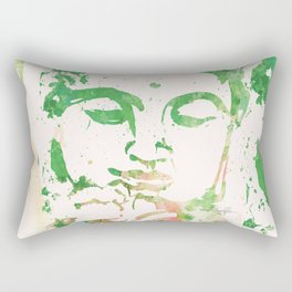 Watercolor Buddha No. 206 by Kathy Morton Stanion Rectangular Pillow