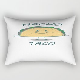 Nacho Taco Rectangular Pillow