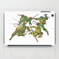 tmnt iPad Cases featuring TMNT by Brittany Ketcham