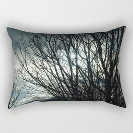 Winter Sun Rectangular Pillow