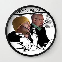 Sonic Meth (Sonic Youth x Breaking Bad) Wall Clock